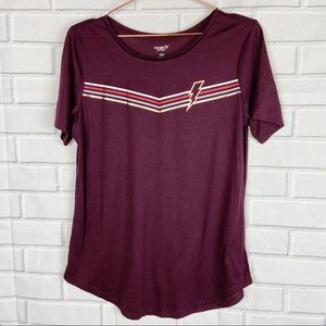 Old Navy Active circle hem go dry workout tee L